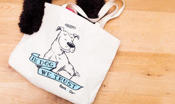 In Dog We Trust Tote