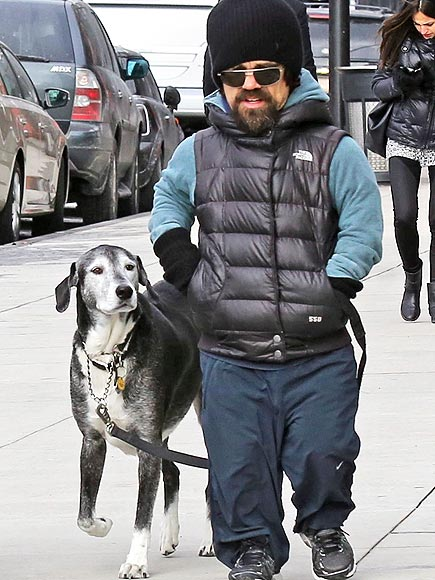 Peter Dinklage and family take a Sunday stroll