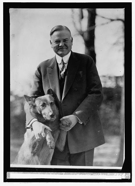 hoover with dog king tut