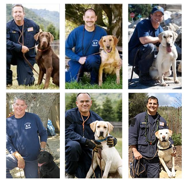 U.S. Firefighter-Canine Rescue Team