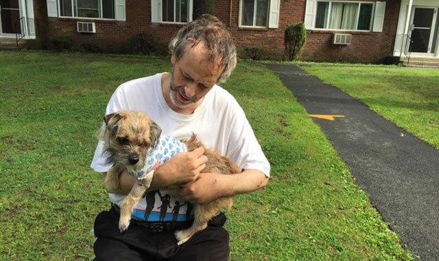 man fights bear to save dog 2