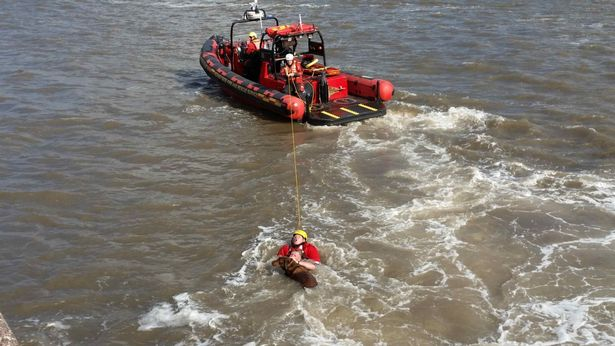 man jumps in river 3
