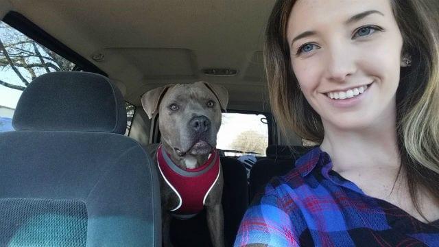 Dallas with Foster Mom